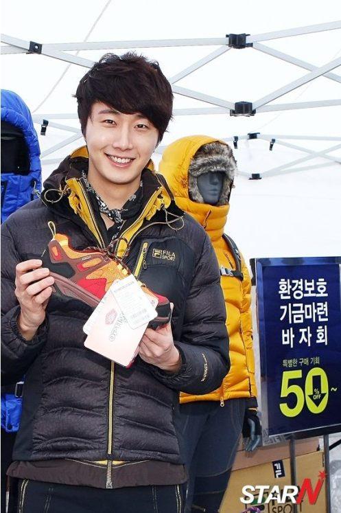 2012 11 3 Jung II-woo for FILA's Green Campaign00031