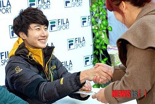 2012 11 3 Jung II-woo for FILA's Green Campaign00046