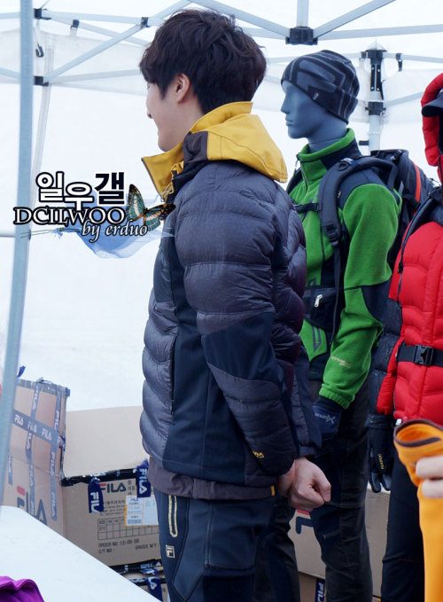 2012 11 3 Jung II-woo for FILA's Green Campaign00073