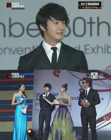 2012 11 30 Jung II-woo at the MAMA Awards 00006