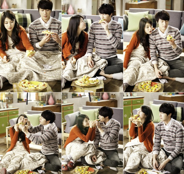 2012 11 Jung II-woo for Domino's Four Cheese Sandwich Pizza. CF 00008