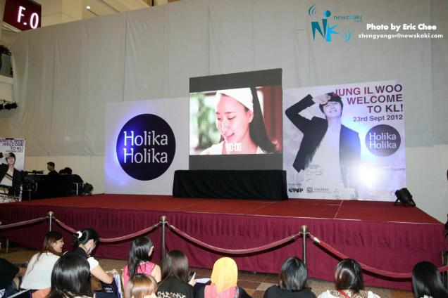 2012 9 23 Jung II-woo in Holika Holika's Fan Meet in Malaysia 00002