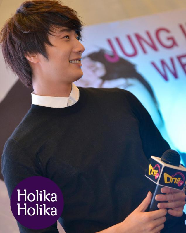 2012 9 23 Jung II-woo in Holika Holika's Fan Meet in Malaysia 00041