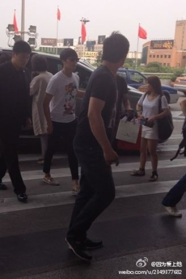 JUNG IL WOO Leaving Shanghai, June 2012 00002
