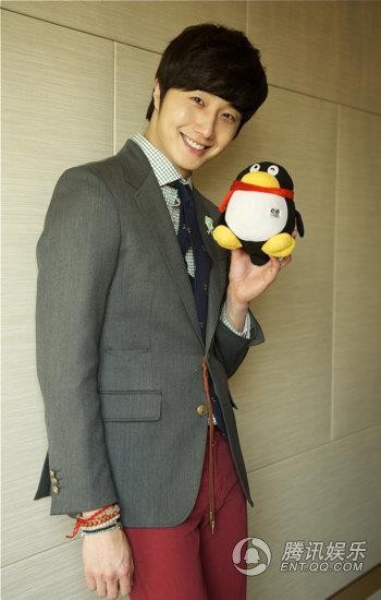 2013 1 5 Jung II-woo in an interview from QQ in China 00005