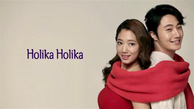 2013 10 9 Jung II-woo (and Park Shin-hye) for Holika Holika Take 2 00004