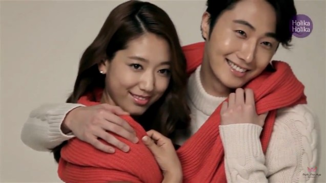 2013 10 9 Jung II-woo (and Park Shin-hye) for Holika Holika Take 2 00012