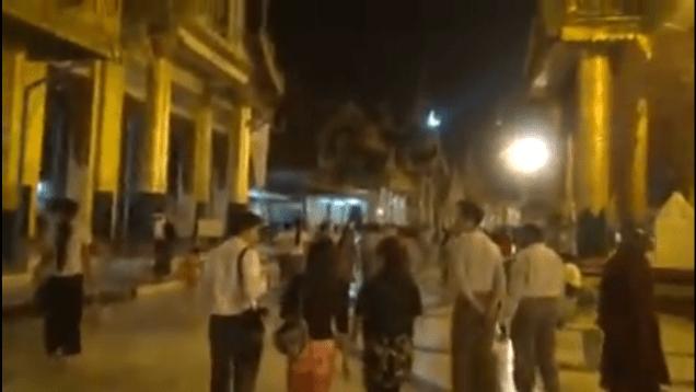 2013 2 22 Jung II-woo at the Temples of the Shwedagon Pagoda Complex in Yangon, Myanmar Cr. FAN 13 Jung II-woo Delights 00004