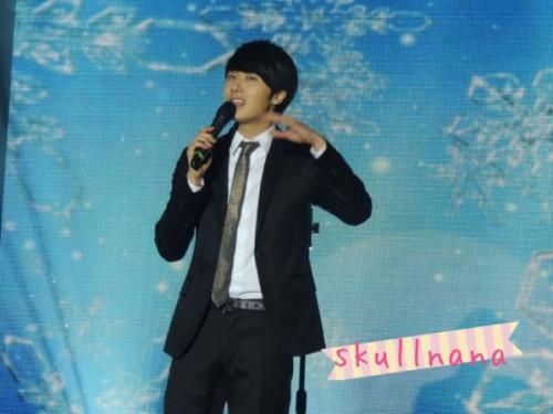 Jung II-woo at Taiwan's Fan Meeting 2012 12 8 Taken by Fans00004