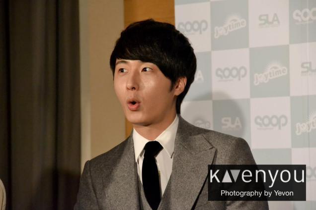 Jung II-woo at Taiwan's Press Conference 12 7 201200004