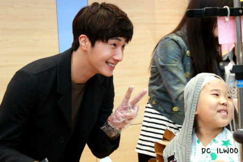 Jung II-woo participates in Domino's Hope Sharing Pizza Party.00021
