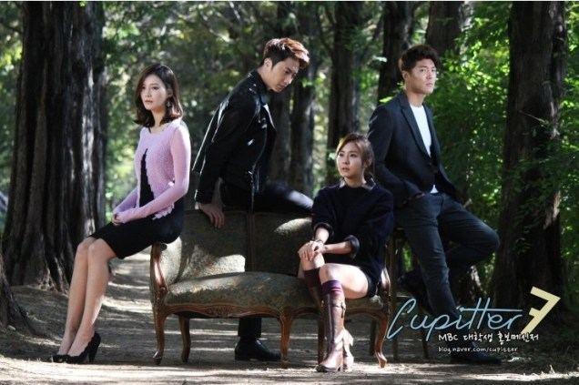 2013 10 Jung II-woo Golden Rainbow Poster Shoot Behind the Scenes Cr. MBC, Cupitter00009