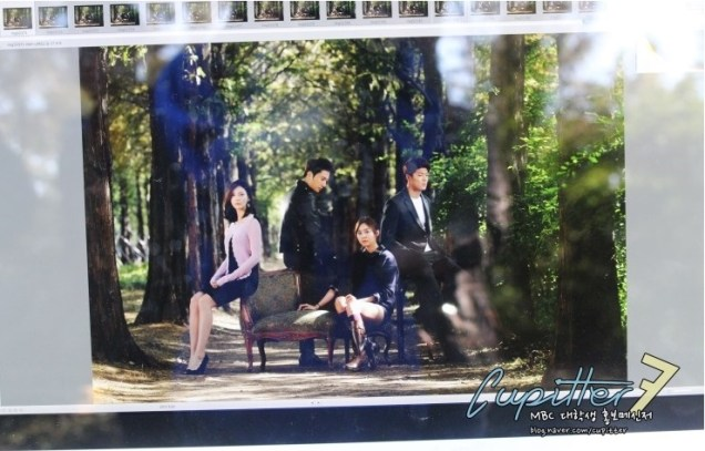 2013 10 Jung II-woo Golden Rainbow Poster Shoot Behind the Scenes Cr. MBC, Cupitter00011