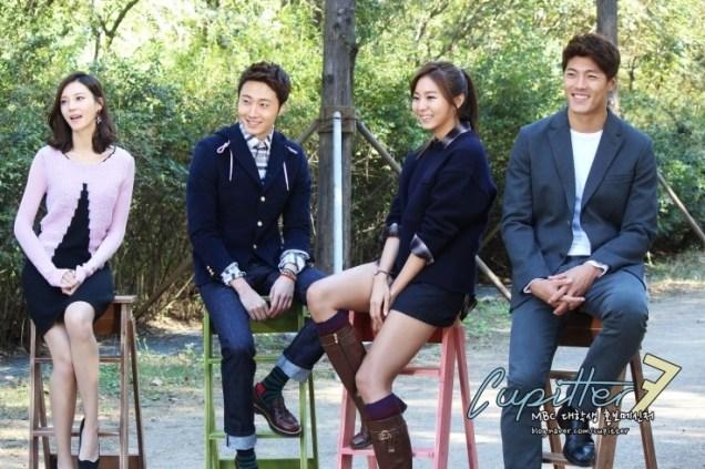 2013 10 Jung II-woo Golden Rainbow Poster Shoot Behind the Scenes Cr. MBC, Cupitter00014