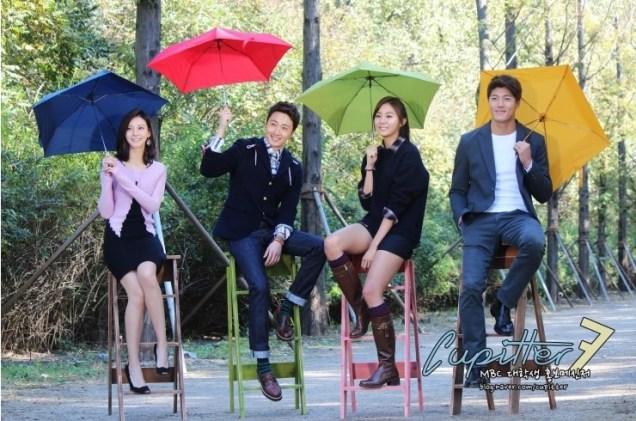 2013 10 Jung II-woo Golden Rainbow Poster Shoot Behind the Scenes Cr. MBC, Cupitter00026
