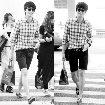 Jung II-woo We love you from hair to toes. The leg:foot edition.7
