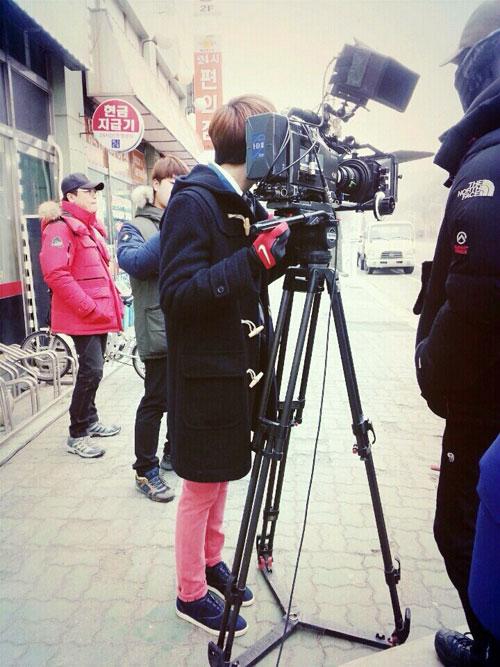 2014 01 Jung II-woo Golden Rainbow Ep 21 BTS 2