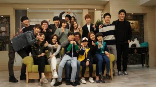 Jung II-woo in Golden Rainbow Last Days of Shooting 9