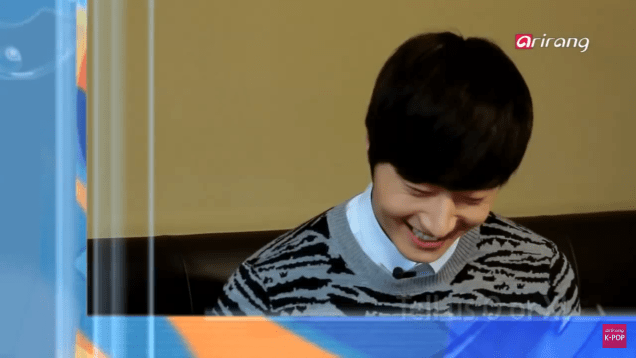 Jung II-woo in interview for Arirang TV. March 2014 17