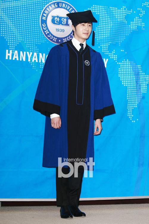 Jung II-woo's Graduation Hanyang University 2014 2 20 21