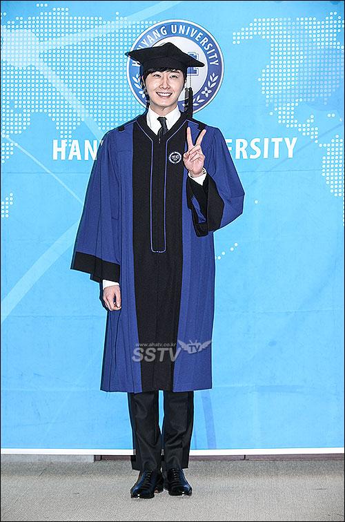 Jung II-woo's Graduation Hanyang University 2014 2 20 25