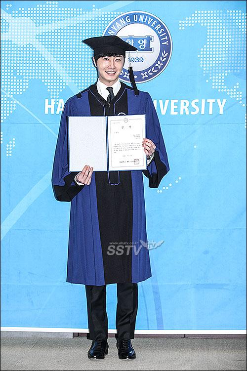 Jung II-woo's Graduation Hanyang University 2014 2 20 29