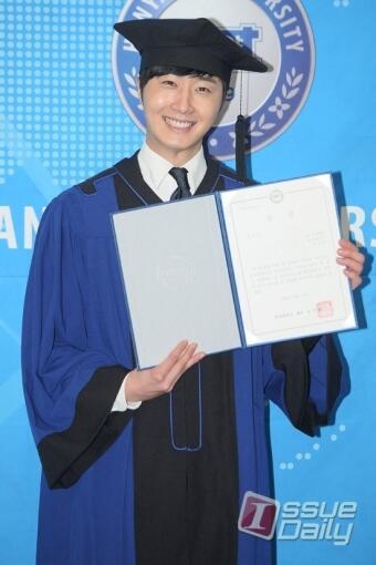 Jung II-woo's Graduation Hanyang University 2014 2 20 31