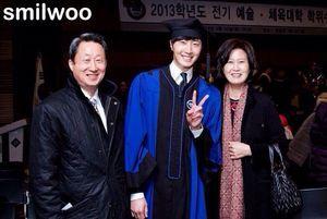 Jung II-woo's Graduation Hanyang University 2014 2 20 40