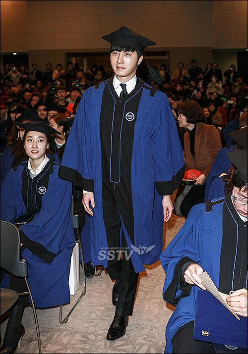 Jung II-woo's Graduation Hanyang University 2014 2 20 8