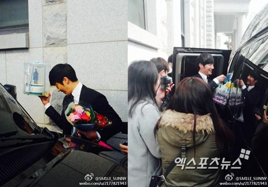 Jung II-woo's Graduation Hanyang University 2014 2 20 Fan Taken (Leaving the ceremony)4