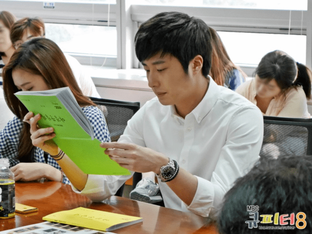 2014 6 12 Jung II-woo at the Night Watchman's Journal Script Reading by Cupitter9 1