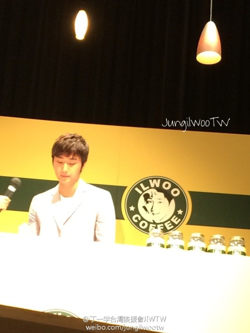 2014 6 7 Jung II-woo in Osaka Fan Meet Ilwoo Together 7