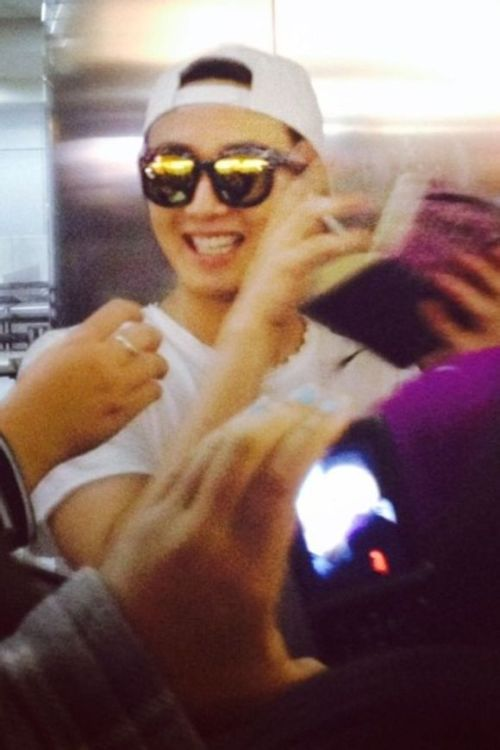 2014 6 Jung Il-woo arrives to Brazil. 5