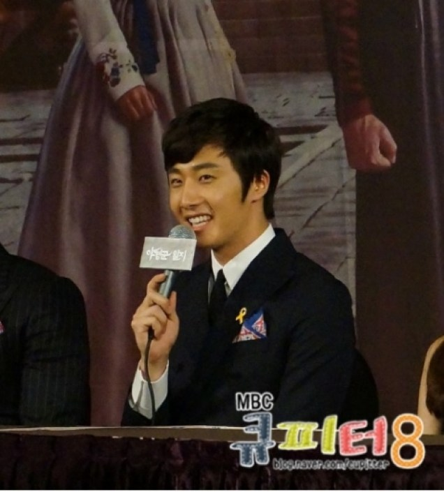 2014 7 29 Jung II-woo at the Night Watchman's Journal Script Press Con ference. Cr. Cupitter9 2