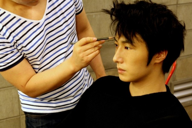 2014 7 Jung Il-woo BTS of THe Clebrity Magazine Photo Shoot. 6