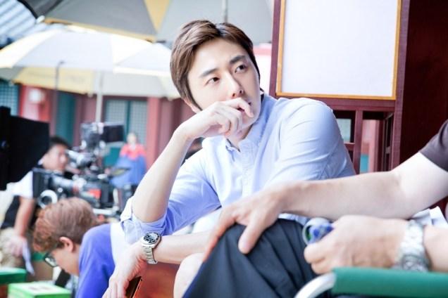 2014 7 Jung Il-woo Visiting set of TNWJ 2