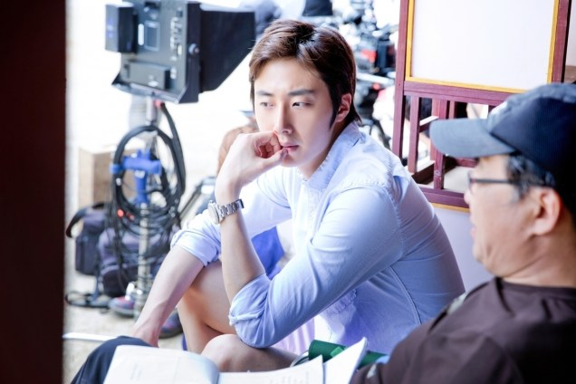 2014 7 Jung Il-woo Visiting set of TNWJ 4