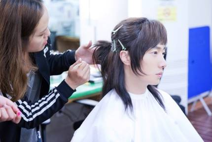 "2014 8 5 Jung II-woo ""here comes Prince Lee Rin"" Cr. Starcast 22.jpg"