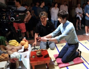 Jung II-woo in the Tea Ceremony for The Night Watchman Journal Script. Cr. MBC 00002