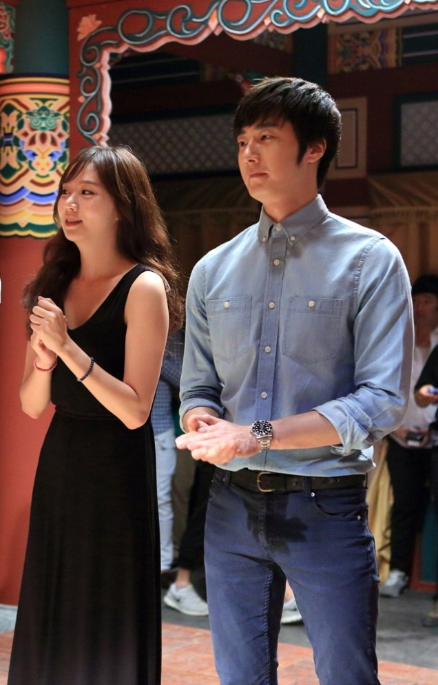 Jung II-woo in the Tea Ceremony for The Night Watchman Journal Script. Cr. MBC 00004