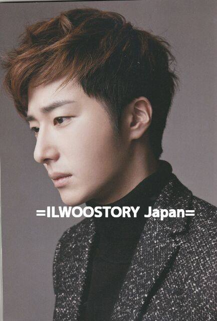 Jung Il-woo in Japanese Magazines 00008