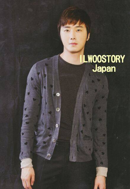 Jung Il-woo in Japanese Magazines 00009
