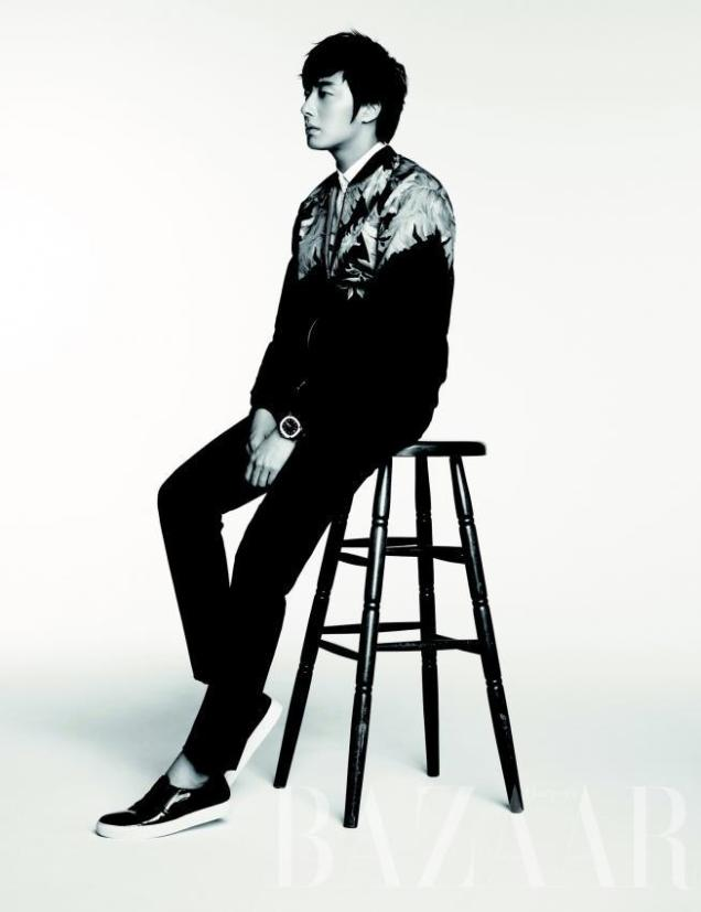 2014 8 Jung Il-woo for Harper's Bazaar Magazine 2