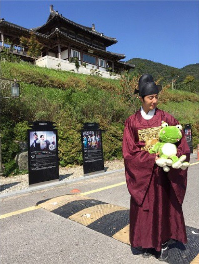 2014 9 Jung Il-woo The Night Watchman's Journal Episode 9 BTS 3