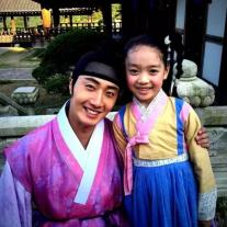 2014 9:10 Jung Il-woo in THe Night Watchman's Journal Episode 19 BTS Fan Taken 2
