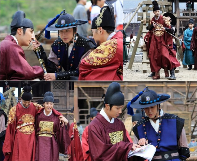 2014 9:10 Jung Il-woo in THe Night Watchman's Journal Episode 20 BTS3