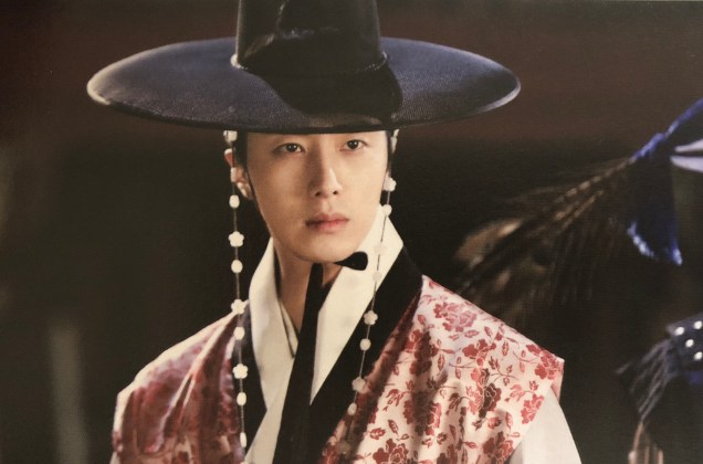2014 Jung II-woo in the CD of the OST for The Night Watchman's Journal 1