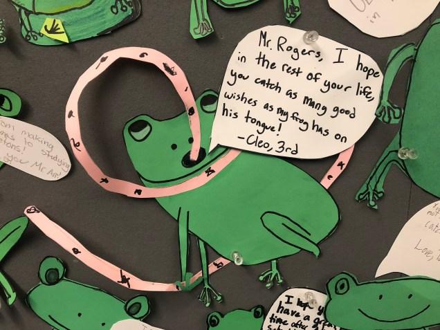 2018 5 31 Froggy Bulletin Board at School 2.jpg