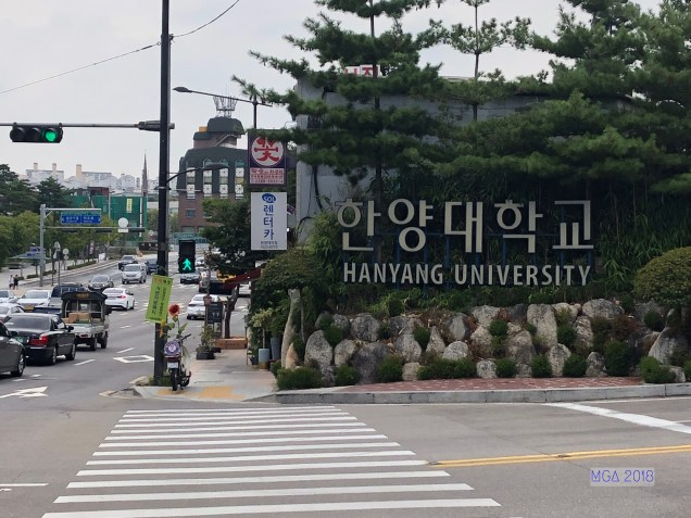 Hanyang University by MGA18. 16