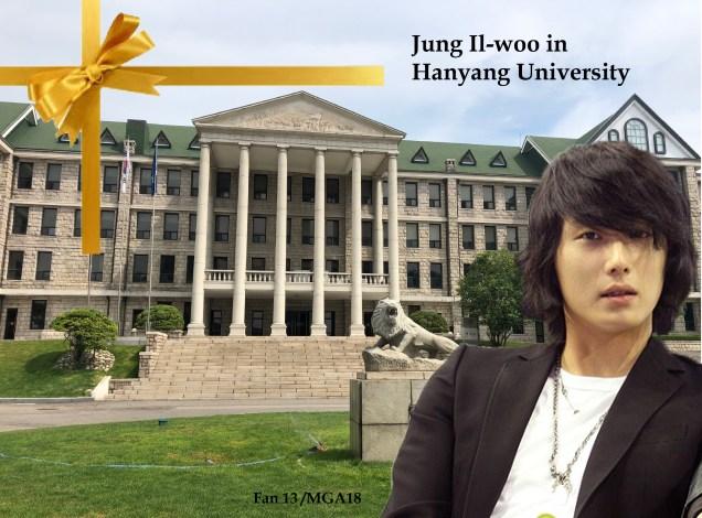 Jung II-woo In Hanyang University